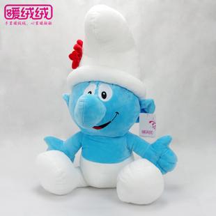 蓝精灵 毛绒玩具/公仔 包邮 浮浮/爸爸/妹妹/聪聪/乐乐/笨笨
